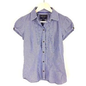 American Eagle Outfitters (I1-22) Womens Sz 4 Blue